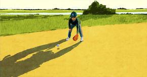 息子の野球