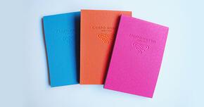 紙の色を変えて、創造力を刺激する
