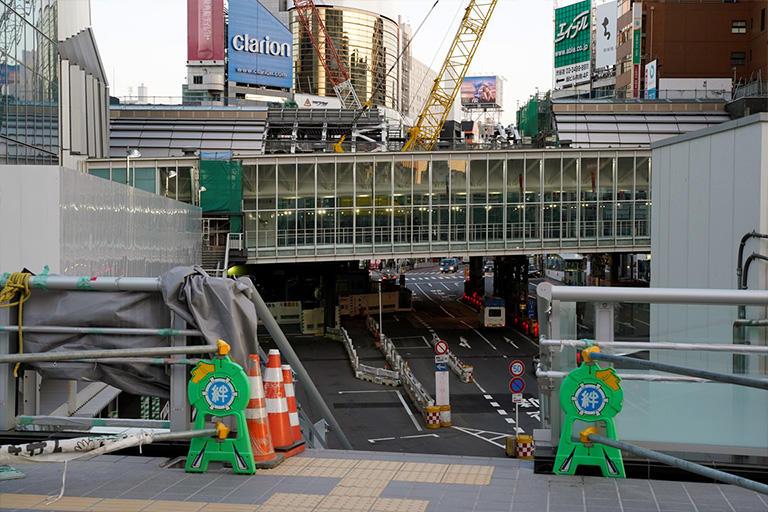再開発が進む東京・JR渋谷駅東口