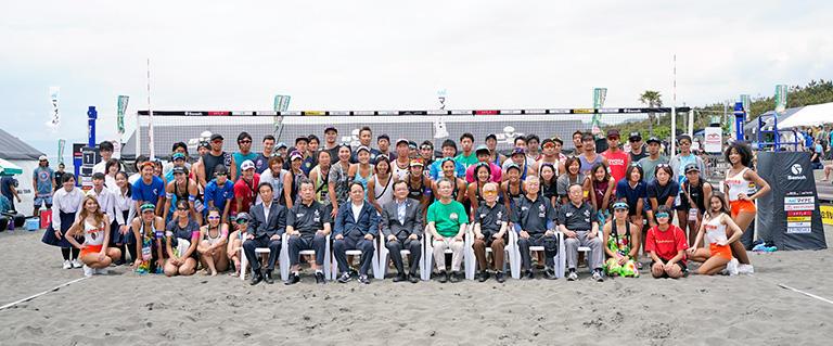 「マイナビジャパンビーチバレーツアー2019」