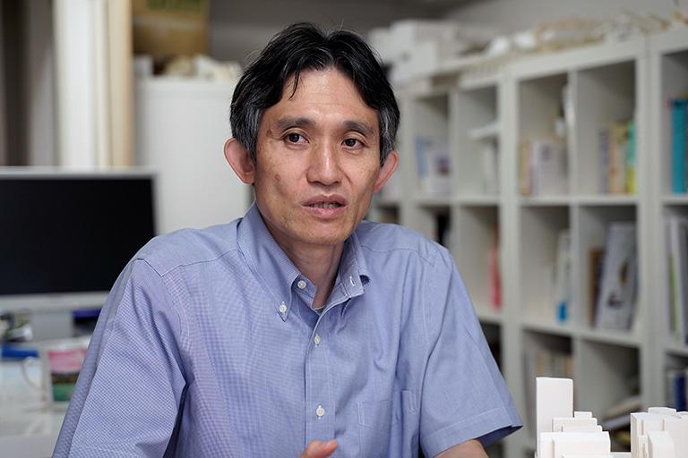 桑田仁さん(芝浦工業大学建築学部建築学科教授)