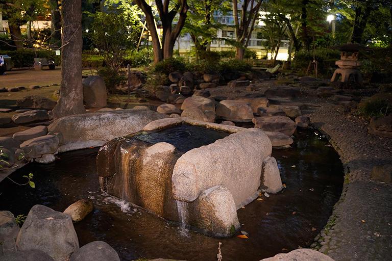 高橋是清翁記念公園にある井戸