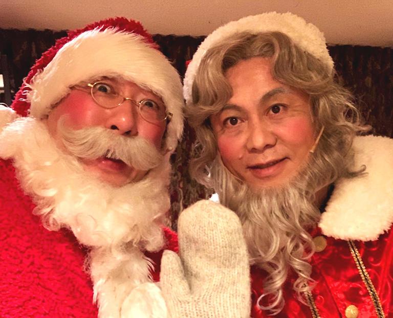 堀江貴文さん主演のミュージカル「クリスマスキャロル」に出演 (撮影:筆者)