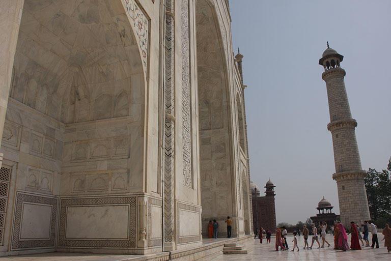 っと再び私はこのタージ・マハルをまた訪れ、物語を感じにいくだろう。
