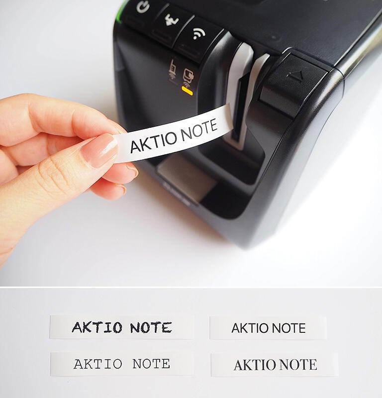 手書き文字をプリントできる機能まであります。