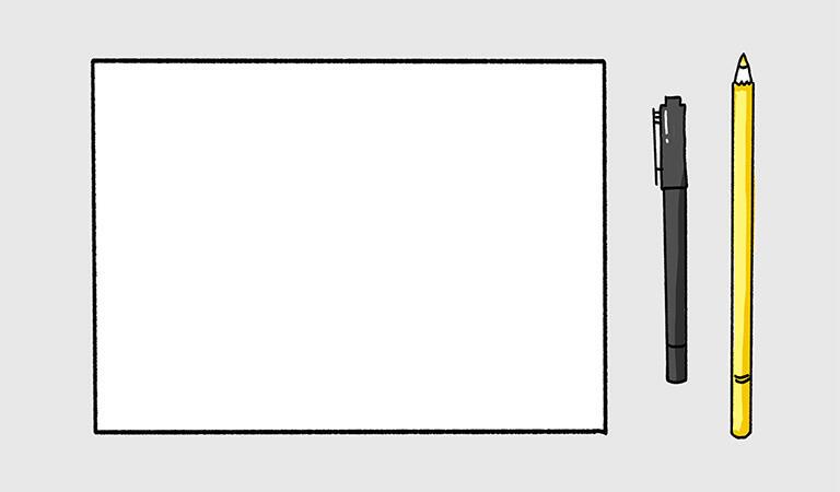 ポイント1:グラレコ基本3点セットを用意しよう!