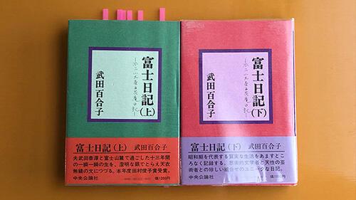 富士日記 著:武田百合子(中央公論社、1977年)