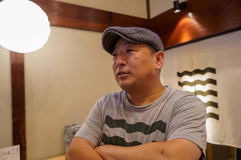 クラフタン店主の竹中志光さん