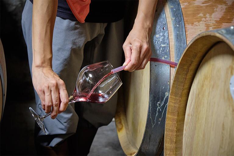 小規模のワイナリーのため、作ったワインの大半は短期間で売り切ってしまう