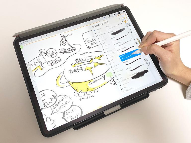 iPadユーザーなら「Procreate」を使ってデジタルグラレコ