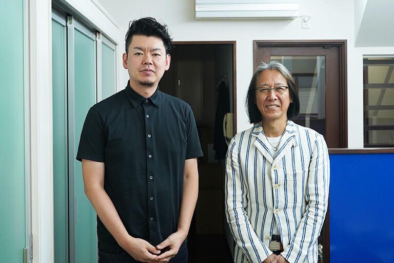 芸術祭を一緒に運営するスタッフの高橋 圭さんと