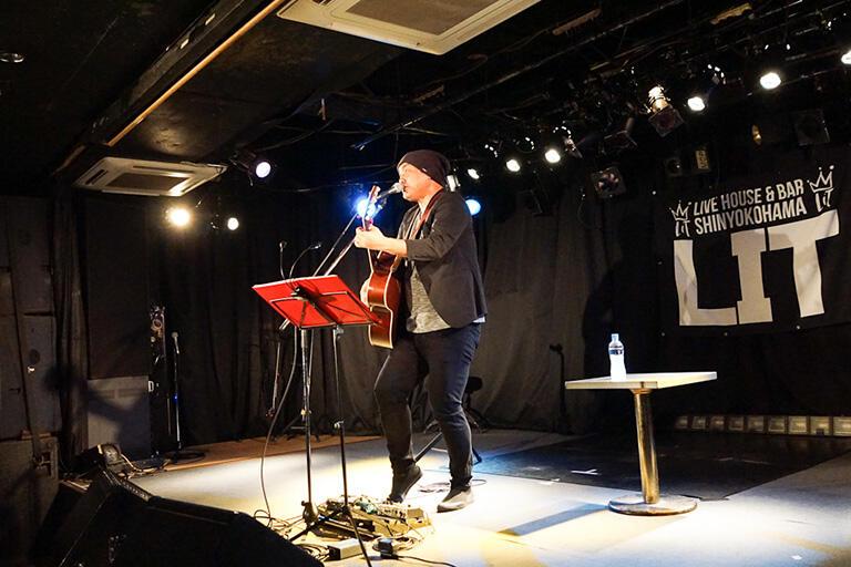 撮影協力 LIVE HOUSE & BAR 新横浜LIT