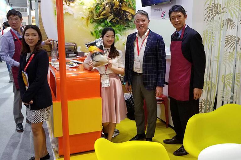 タイの食品展示会で