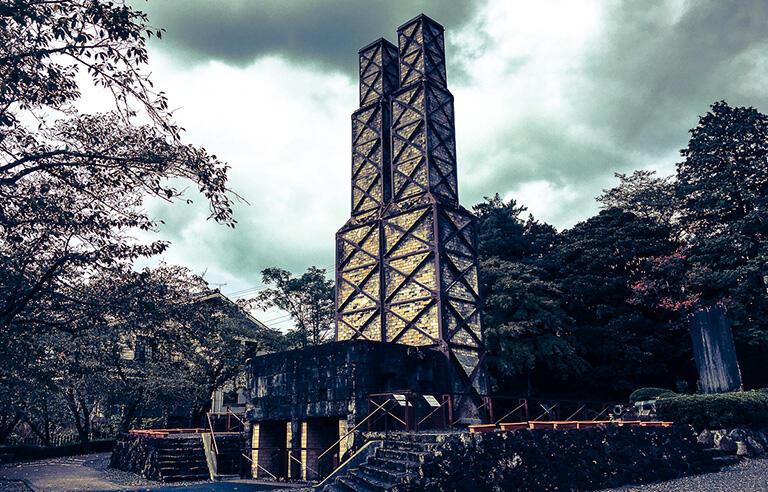 静岡県の伊豆国市にある韮山反射炉